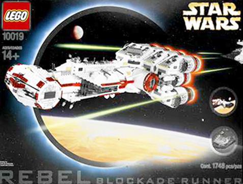 Lego 10019 Rebel Blockade Runner Ultimate Collectors Series