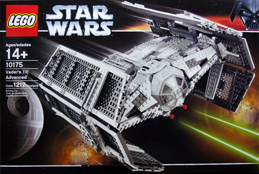 Lego 10175 Vader's TIE Advanced Ultimate Collectors Series