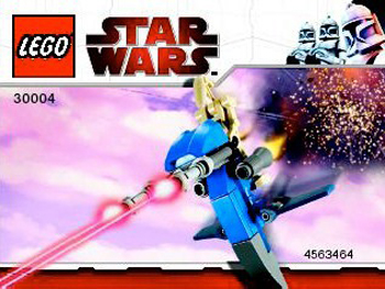 Lego 30004 Battle Droid on STAP