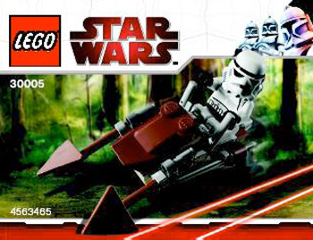 Lego 30005 Imperial Speeder Bike