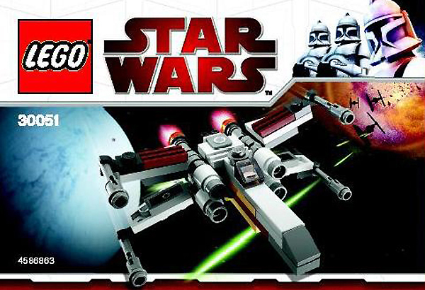 Lego 30051 MINI X-Wing Fighter