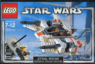 Lego 4500 Rebel Snowspeeder (Box Design V1)