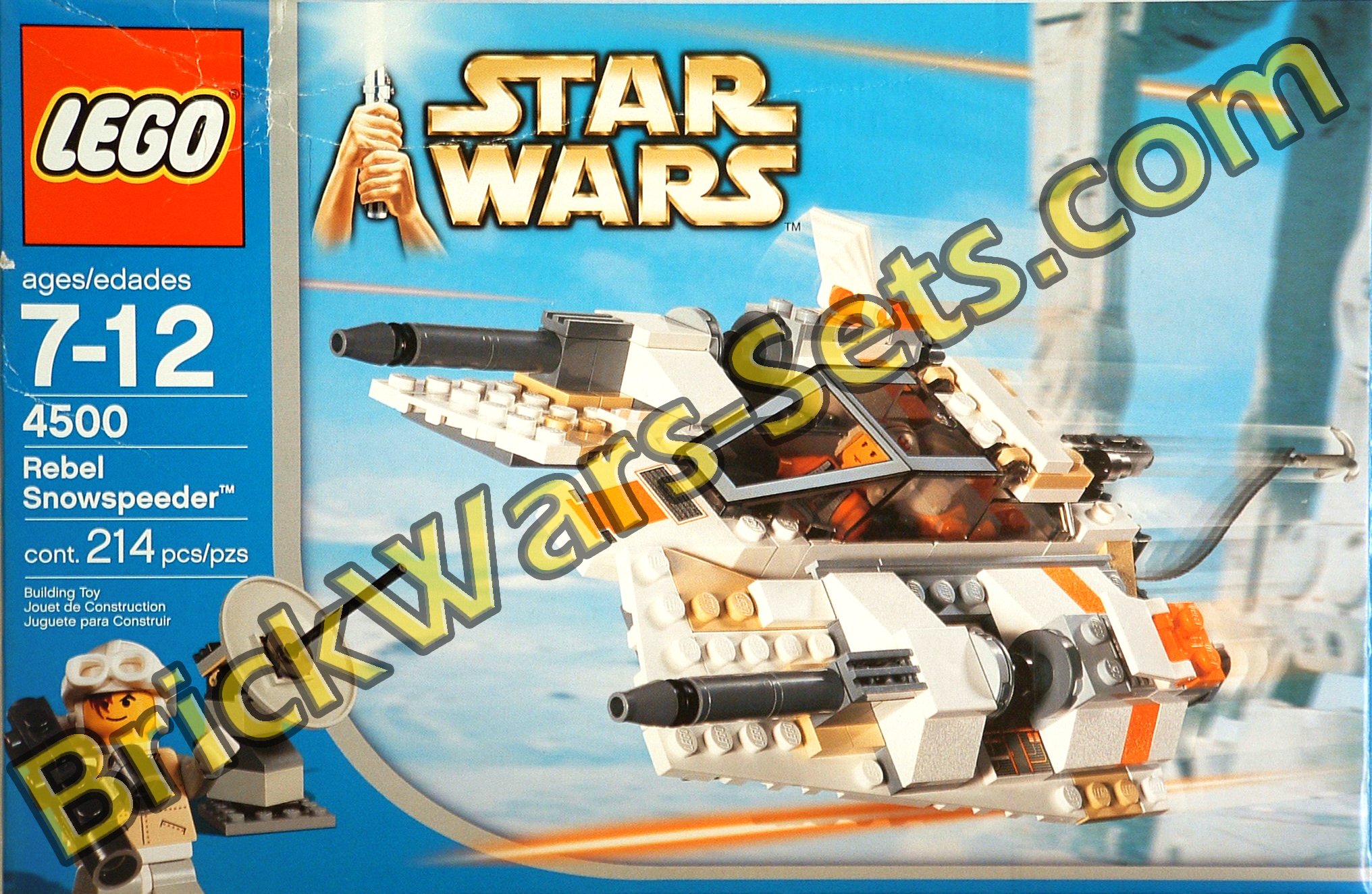Lego 4500 Rebel Snowspeeder (Box Design V2