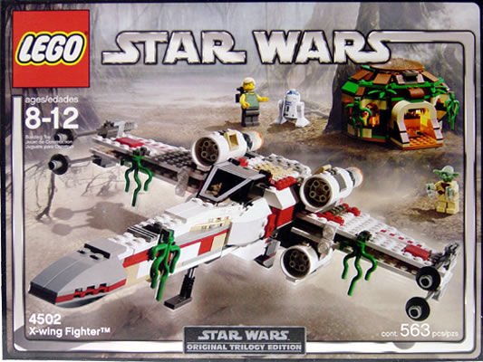 Lego 4502 X-Wing Fighter (Box Design V1)