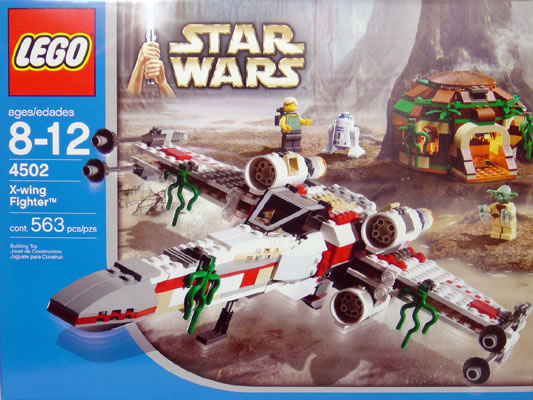 Lego 4502 X-Wing Fighter (Box Design V2)