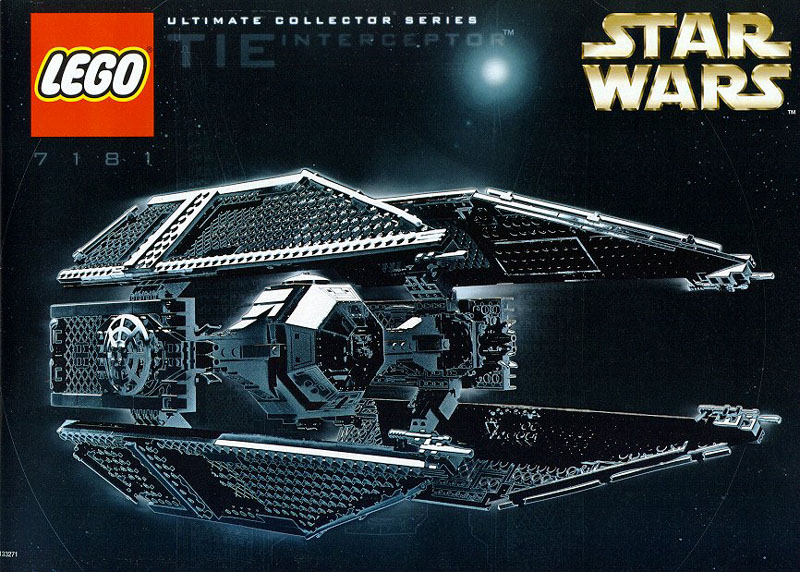Lego 7181 TIE Interceptor Ultimate Collectors Series