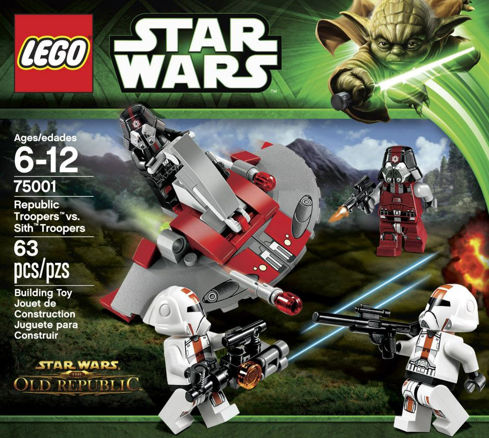 Lego 75001 Republic Troopers vs. Sith Troopers