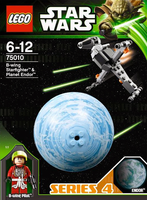 Lego 75010 B-Wing Starfighter & Planet Endor
