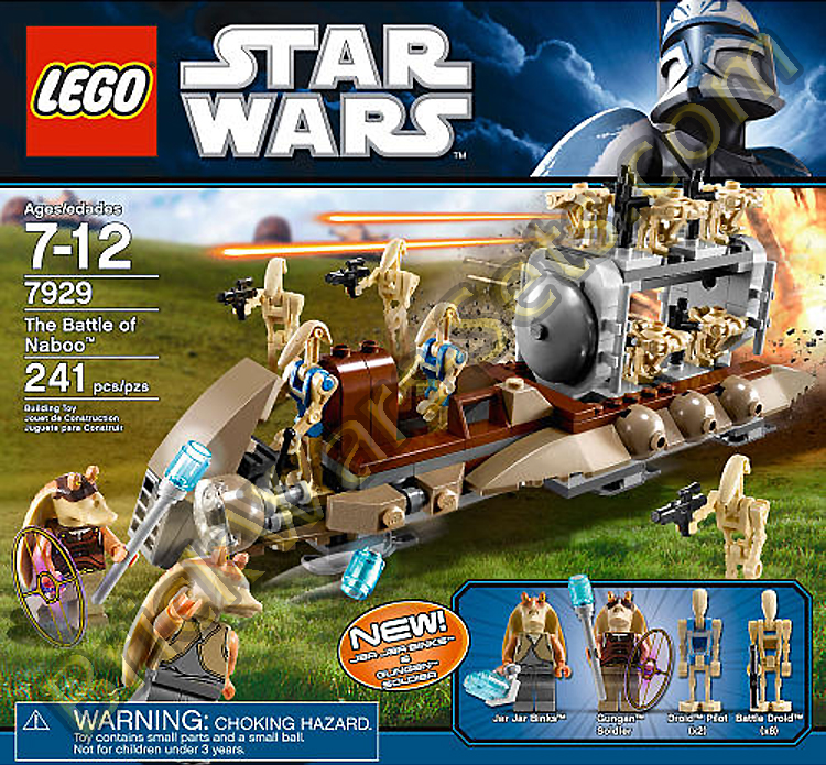 Lego 7929 The Battle of Naboo