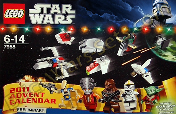 Lego 7958 Star Wars Advent Calendar