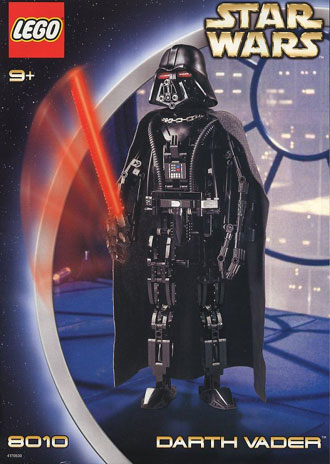 Lego Technic 8010 Set Darth Vader