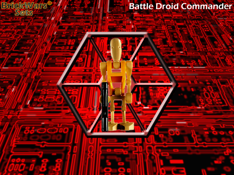 Battle Droid Commander - Clone Wars