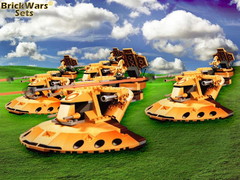 Battle of Naboo - Droid Assault Wave I