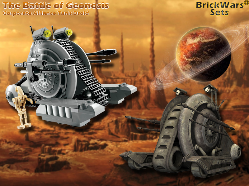 The Battle of Geonosis - Corporate Alliance Tank Droid