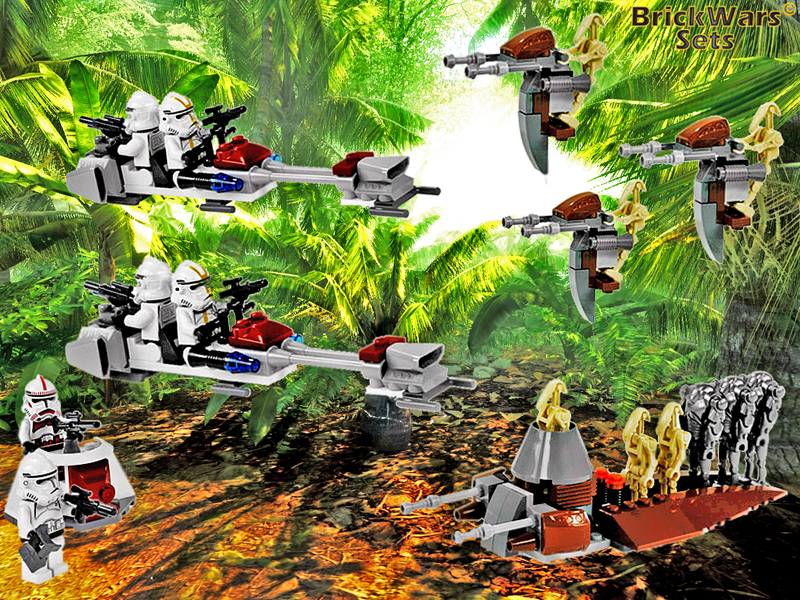 The Grand Army of the Republic vs the Separatist Droid Army