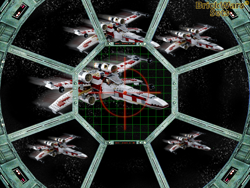 brickwarssets xwing fighters sighted lego star wars