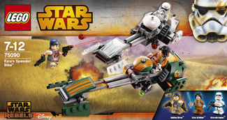 Lego 75090 Ezra's Speeder Bike