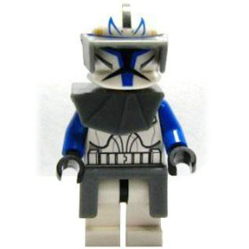 Captain Rex (Clone Wars Style, Phase I Armor)