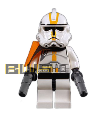 Clone Commander (Orange Pauldron)