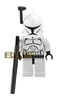 Clone Trooper (Black Antenna, Clone Wars Style)