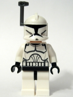 Clone Trooper (Dark Gray Antenna, Clone Wars Style)