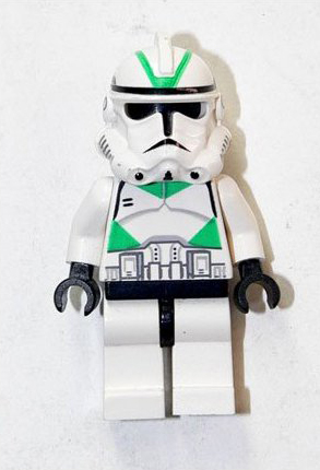 Clone Trooper (Phase II Armor, Green)