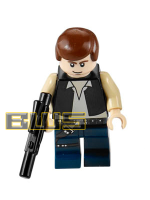 Han Solo (Black Vest, Blue Pants, Flesh, White Pupils)