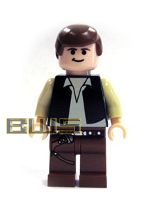 Han Solo (Black Vest, Flesh)