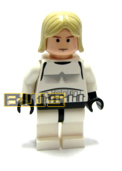 Luke Skywalker (Stormtrooper, Long Hair, Flesh)
