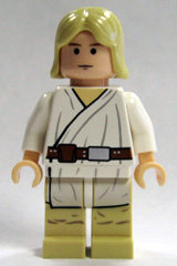 Luke Skywalker (Tatooine, Long Hair, Flesh