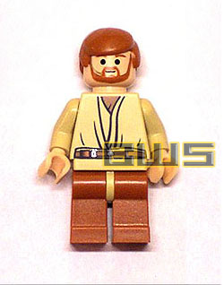 Obi-Wan Kenobi (With Headset, Flesh)