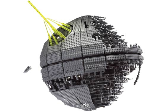 Lego 10143 Death Star II Ultimate Collectors Series - Alternate View 2