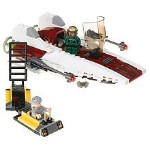 Lego 6207 A-Wing Fighter - Alternate View 2