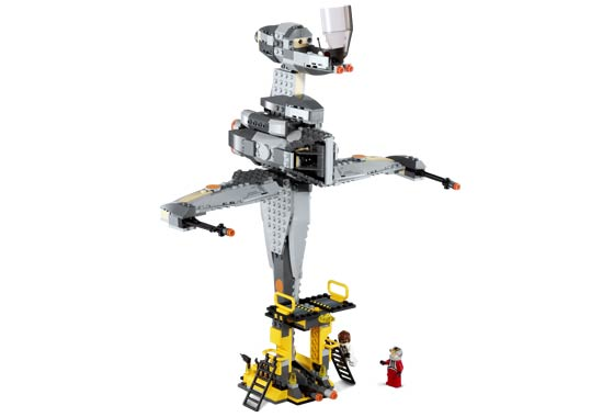 Lego 6208 B-Wing Fighter - Alternate View 2