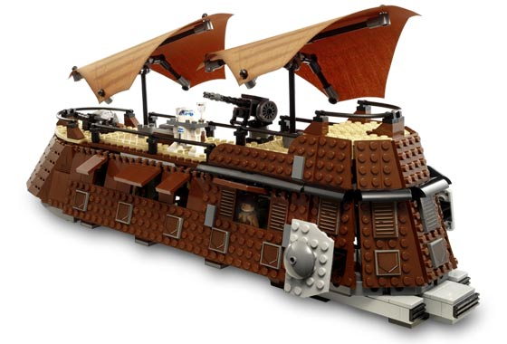 Lego 6210 Jabba's Sail Barge - Alternate View 1