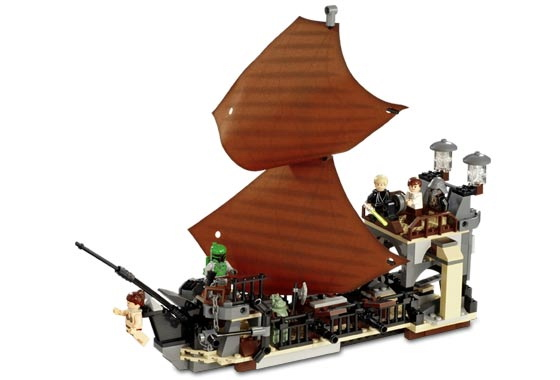 Lego 6210 Jabba's Sail Barge - Alternate View 3