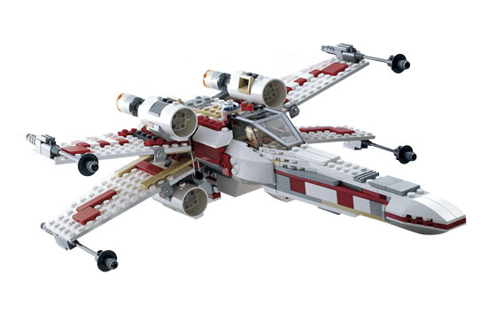 Lego 6212 X-Wing Fighter - Alternate View 1