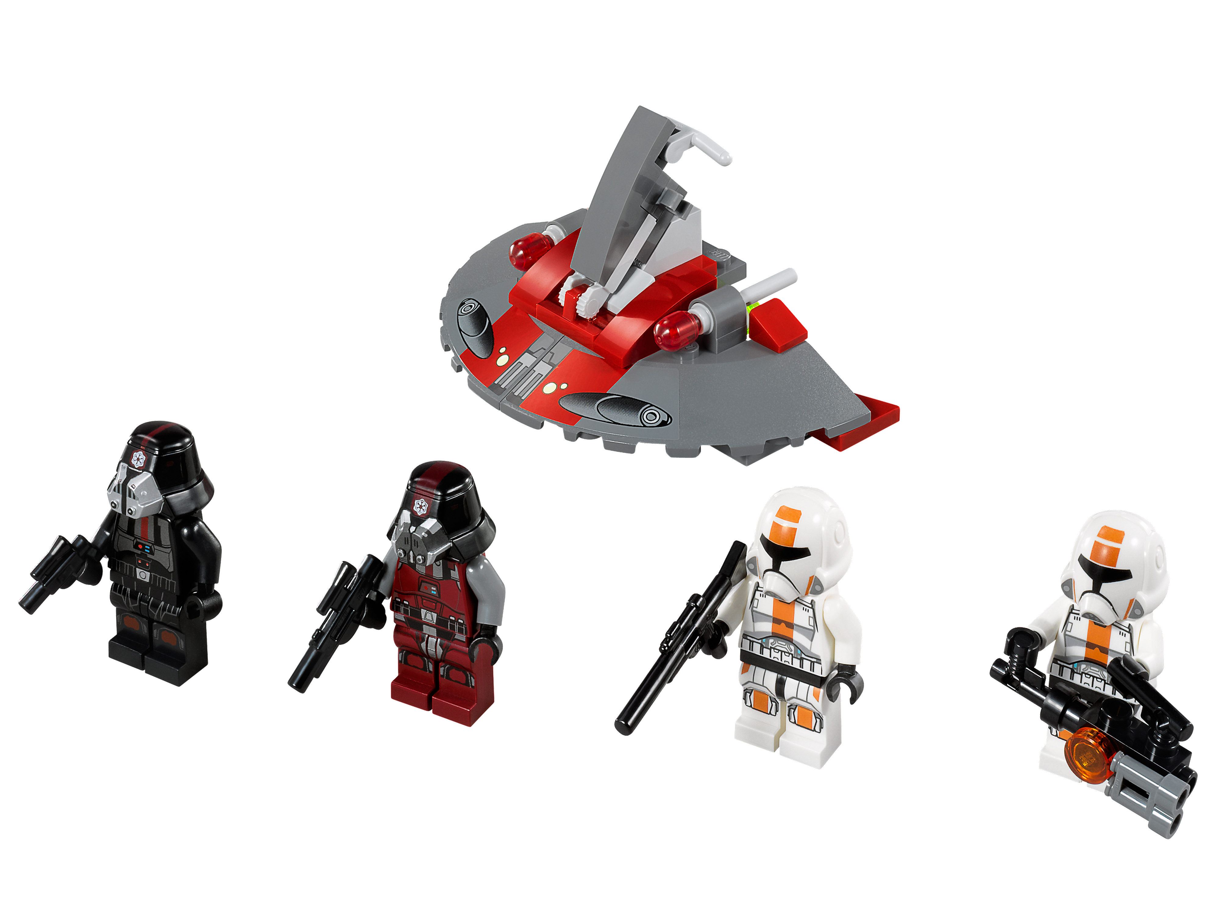 Lego 75001 Republic Troopers vs. Sith Troopers - Alternate View 1