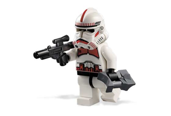 Lego 7655 Clone Troopers Battle Pack - Alternate View 3