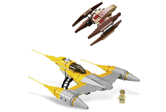 Lego 7660 Naboo N-1 Starfighter with Vulture Droid