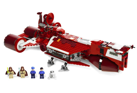 Lego 7665 Republic Cruiser - Alternate View 1