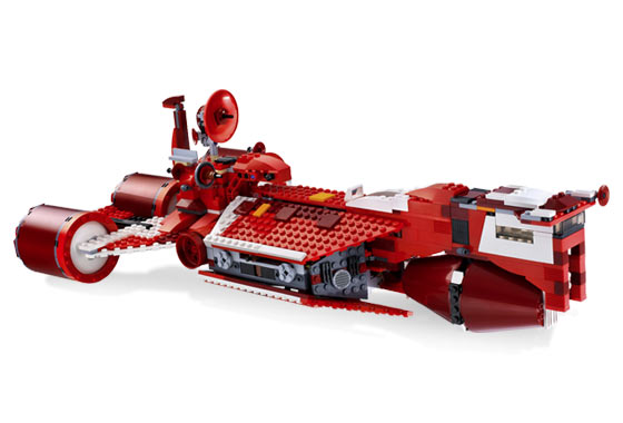 Lego 7665 Republic Cruiser - Alternate View 2