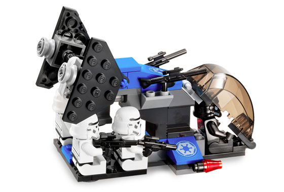 Lego 7667 Imperial Dropship - Alternate View 3