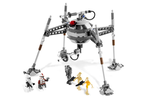 Lego 7681 Separatist Spider Droid - Alternative View 1