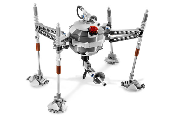 Lego 7681 Separatist Spider Droid - Alternative View 2