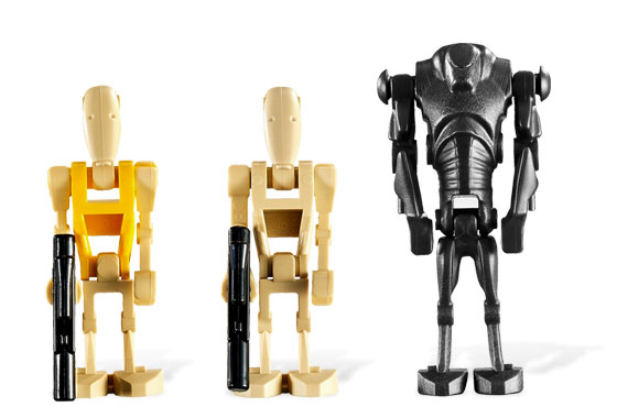 Lego 7681 Separatist Spider Droid - Alternative View 3