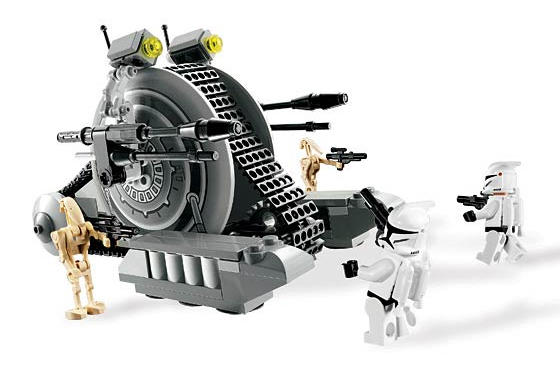 Lego 7748 Corporate Alliance Tank Droid