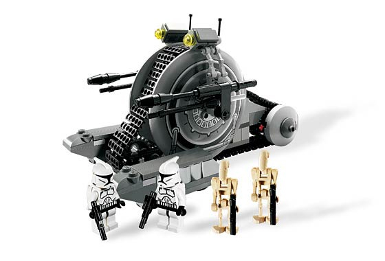 Lego 7748 Corporate Alliance Tank Droid - Alternate View 2