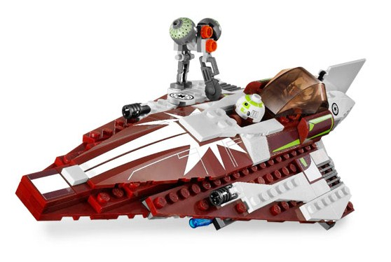 Lego 7751 Ahsoka's Starfighter and Droids - Alternate View 2