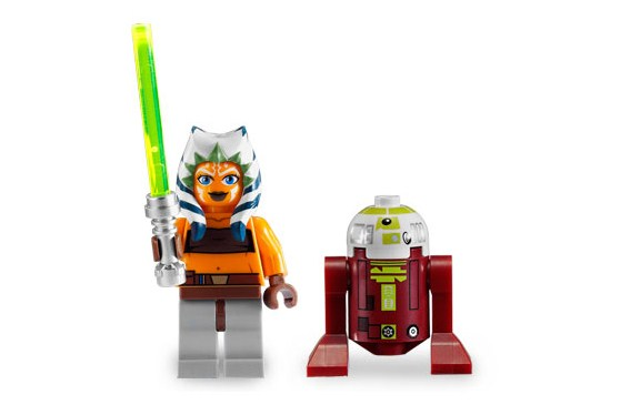 Lego 7751 Ahsoka's Starfighter and Droids - Alternate View 4